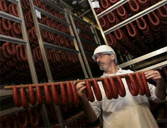 Production de chorizo en France